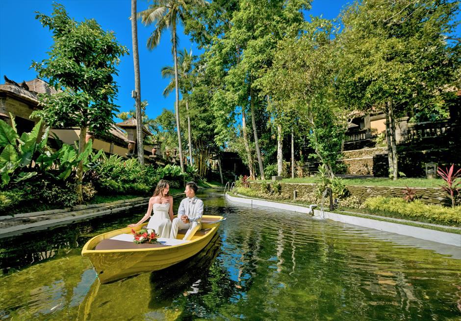 バリ島ウェディング・フォト・オプション/ ボートライド(カマンダル・ウブド)/ 料金はお問い合わせください