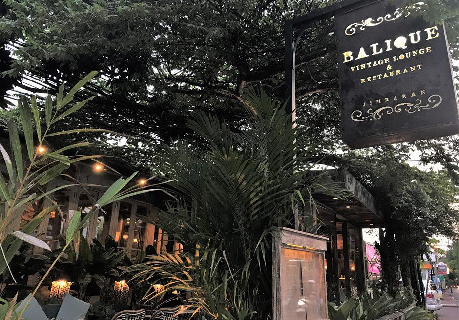 バリ島挙式 バリーク ジンバラン レストラン