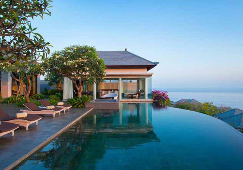 バリ島ウェディング バンヤンツリー・ウンガサン 3ベッドルームプールヴィラ