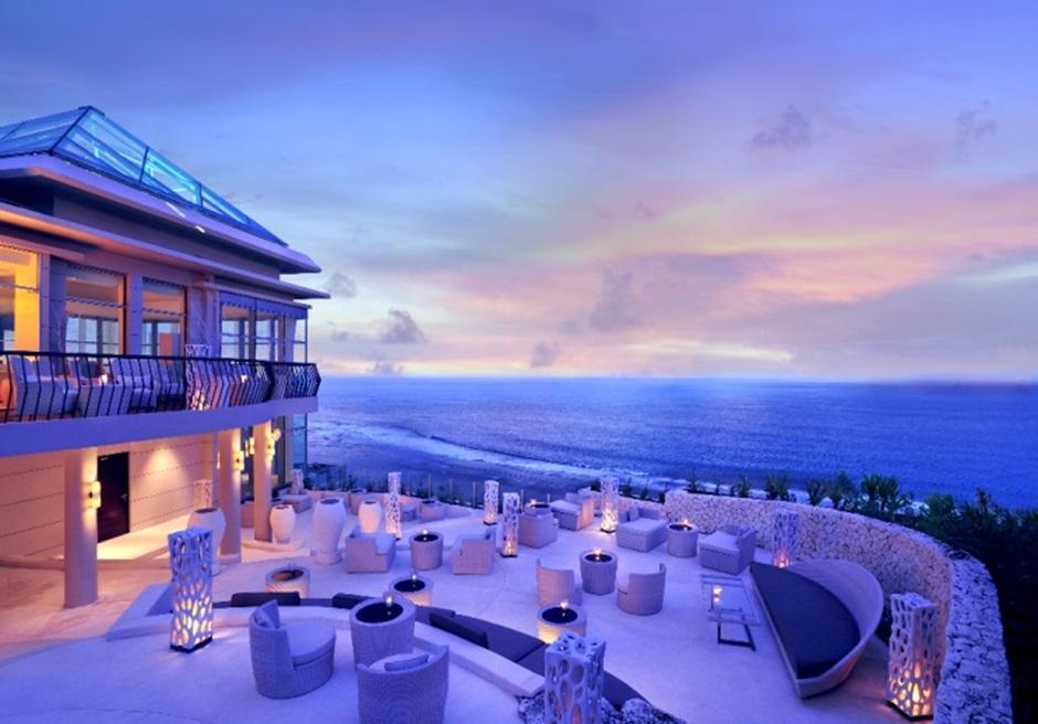 バリ島結婚式 バンヤンツリー・ウンガサン レストランパーティー