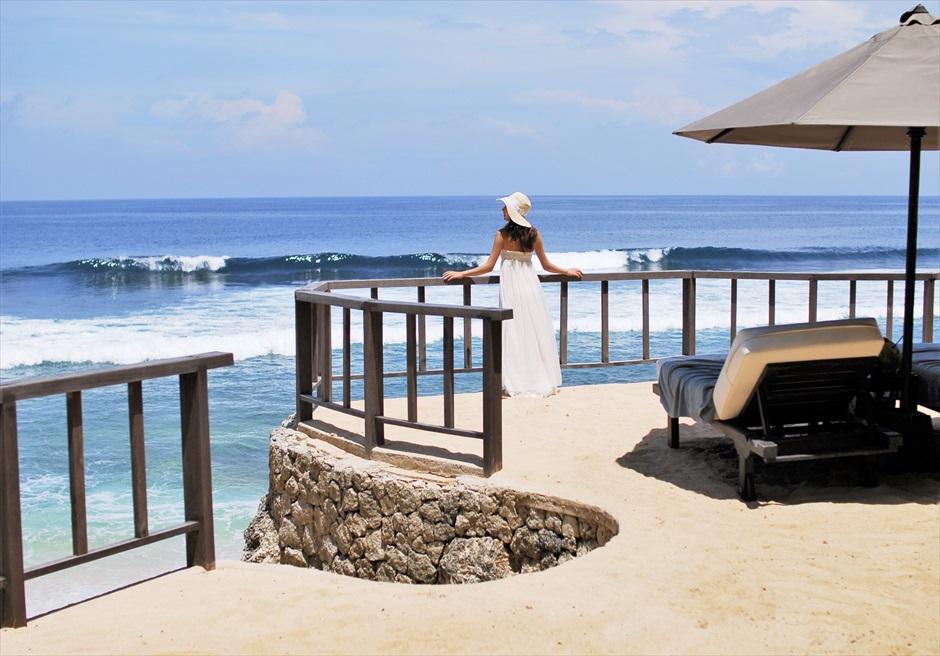 バリ島フォト・ウェディング/ ブルガリ リゾート バリ/ バリ島随一に美しい白砂ビーチ