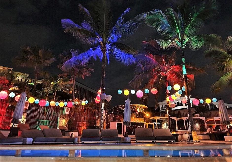バリ島結婚式 ビーチクラブ パーティー