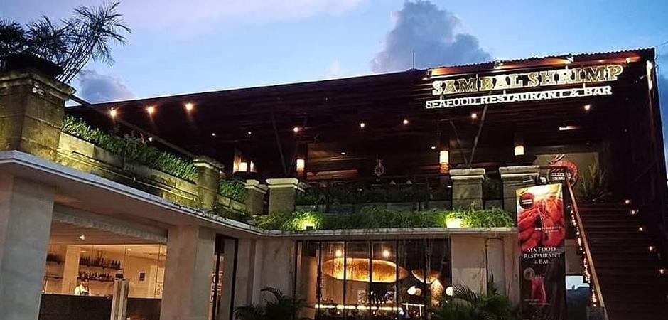 バリ島挙式 シーフードレストラン
