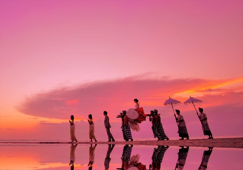 バリ島2人挙式・結婚式・ウェディング ビーチ