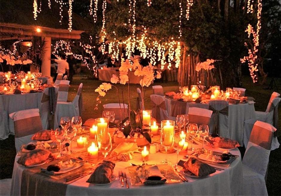 バリ島ウェディング ウブド挙式 ディナーパーティー