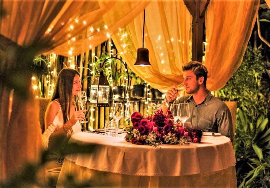 バリ島挙式 ウブド ロマンティックディナー