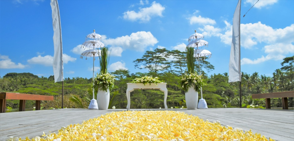 Four Seasons Sayan<br>Ubud Wedding for Two