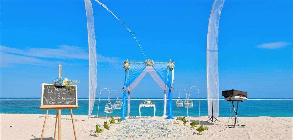 Samabe Bali<br>Beach Wedding for Two